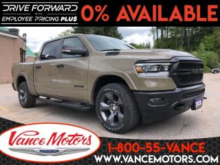 New 2020 RAM 1500 Big Horn Built to Serve Edition for sale in Bancroft, ON