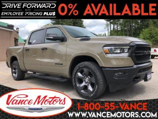 New 2020 RAM 1500 Big Horn Built to Serve Edition 4x4...V8*HTD SEATS for sale in Bancroft, ON