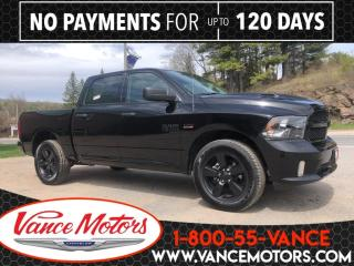 New 2019 RAM 1500 Classic Express Blackout Sub Zero 4x4...V8*HTD SEATS*TOW! for sale in Bancroft, ON