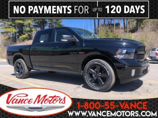 New 2019 RAM 1500 Classic Black Package 4x4...DIESEL*HTD SEATS*NAV! for sale in Bancroft, ON
