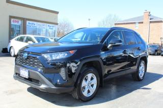 Used 2020 Toyota RAV4 Hybrid LE for sale in Brampton, ON