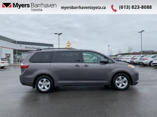 Used 2017 Toyota Sienna LE  - Heated Seats -  Bluetooth - $172 B/W for sale in Ottawa, ON