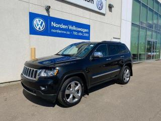 Used 2011 Jeep Grand Cherokee LIMITED 4WD - LEATHER / NAVI / SUNROOF for sale in Edmonton, AB