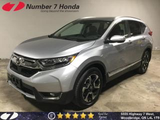 Used 2018 Honda CR-V Touring| Loaded| Leather| Navi| for sale in Woodbridge, ON