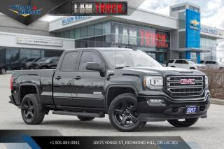 Used 2017 GMC Sierra 1500 Elevation Edition for sale in Richmond Hill, ON