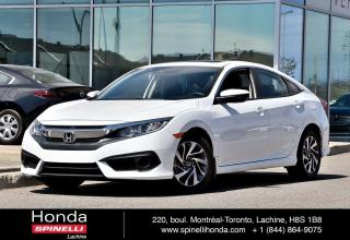 Used 2018 Honda Civic EX BAS KM TOIT MAGS AUTO AC MAGS APPLE CARPLAY BLUETOOTH CAM RECUL++ for sale in Lachine, QC