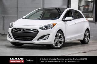 Used 2013 Hyundai Elantra GT SE TECH; CUIR TOIT PANO GPS MAGS BAS KILO BAS KILOMÉTRAGE - NAVIGATION - TOIT PANORAMIQUE - CAMÉRA DE RECUL - INTÉRIEUR CUIR for sale in Lachine, QC