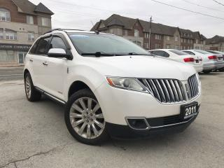Used 2011 Lincoln MKX AWD|Navi|Leather|Camera|Push start|Bluetooth for sale in Burlington, ON