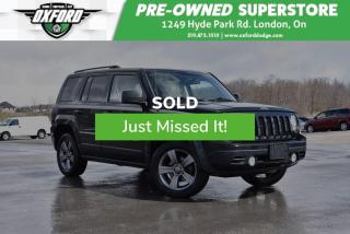 Used 2015 Jeep Patriot Sport/North - Well Equipped, Amazing Condition for sale in London, ON