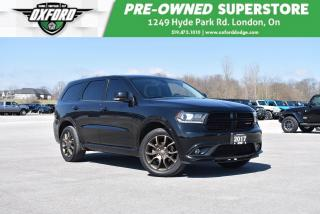 Used 2017 Dodge Durango GT - Well Equipped, Well Maintained, AWD for sale in London, ON