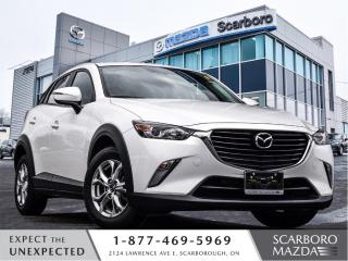 Used 2017 Mazda CX-3 1.5%@FINANCE|AROUND7842KM|CPO|GS|1 OWNER for sale in Scarborough, ON