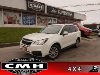 Used 2017 Subaru Forester 2.5i Auto  AWD CAM HS BT ALLOYS for sale in St. Catharines, ON