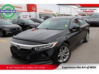 Used 2018 Honda Accord LX for sale in Whitby, ON