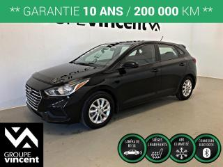 Used 2020 Hyundai Accent Preferred ** GARANTIE 10 ANS ** Véhicule comme neuf! for sale in Shawinigan, QC