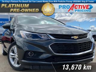 Used 2018 Chevrolet Cruze LT for sale in Rosetown, SK