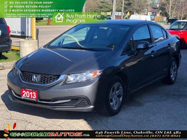 2013 Honda Civic LX|LOW KM|NO ACCIDENT|BLUETOOTH|HEATED SEATS|CERT.