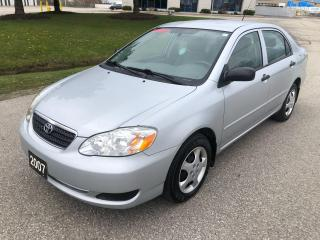 Used 2007 Toyota Corolla CE for sale in Cambridge, ON
