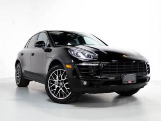 Used 2018 Porsche Macan S I PANO I NAVI I 20 INCH WHEELS for sale in Vaughan, ON