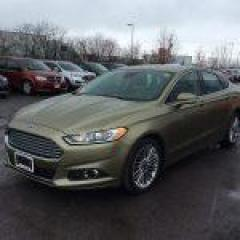 Used 2013 Ford Fusion SE ECOBOOST - LEATHER - BACK UP CAMERA for sale in Ottawa, ON