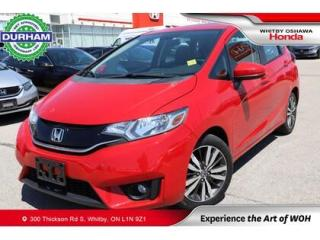 Used 2016 Honda Fit 5DR HB CVT EX for sale in Whitby, ON