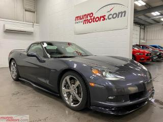 Used 2010 Chevrolet Corvette 2dr Cpe w-3LT Ground Effects Glass Roof HUD NAV for sale in St. George Brant, ON