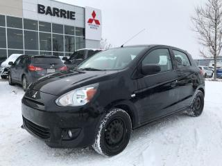 Used 2014 Mitsubishi Mirage SE for sale in Barrie, ON