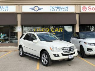 Used 2009 Mercedes-Benz M-Class 3.5L, Navi, Backup Camera for sale in Vaughan, ON