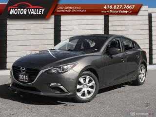 Used 2014 Mazda MAZDA3 Sport GX-SKY Hatchback No Accident! for sale in Scarborough, ON