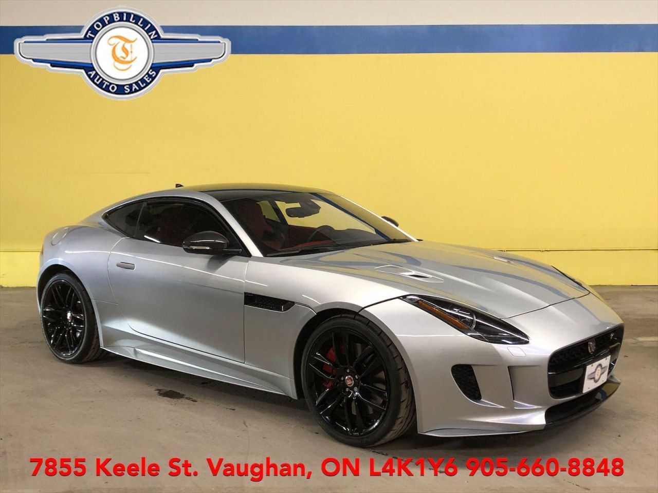 2017 Jaguar F-Type R AWD,  Fully Loaded, Red Leather Interior
