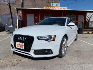 Used 2014 Audi A5 Technik for sale in Scarborough, ON