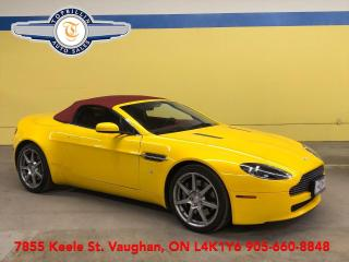 Used 2007 Aston Martin Vantage Convertible, 2 Years Warranty for sale in Vaughan, ON