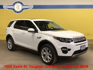 Used 2016 Land Rover Discovery HSE, Navi, Roof, Blind Spot, Keep Lane for sale in Vaughan, ON