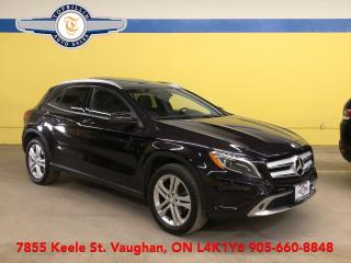 Used 2016 Mercedes-Benz GLA GLA 250 4Matic, Navi, Pano Roof, Blind Spot, B Cam for sale in Vaughan, ON