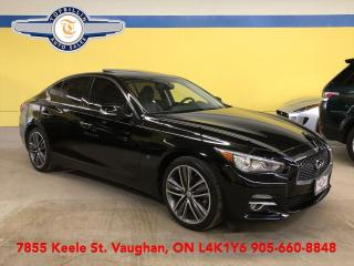 Used 2015 Infiniti Q50 Limited AWD, Tech Package, Only 52K for sale in Vaughan, ON