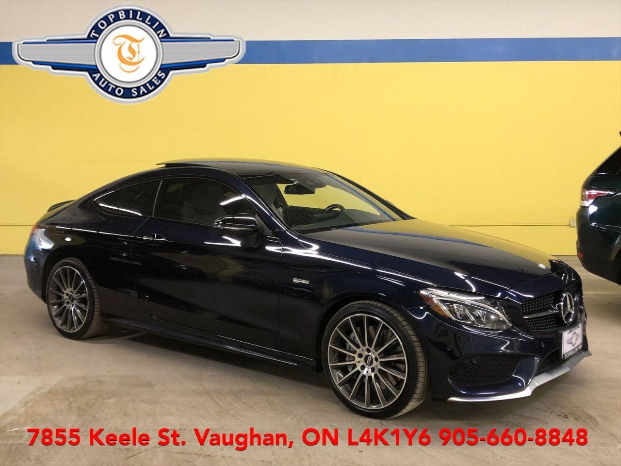 2017 Mercedes-Benz C-Class AMG C 43 4MATIC, 2 Years Warranty