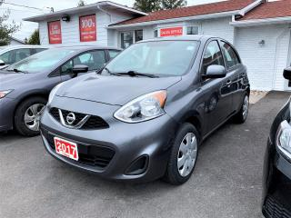 Used 2017 Nissan Micra 4DR HB AUTO S for sale in Ottawa, ON