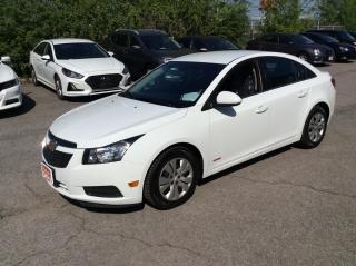 Used 2013 Chevrolet Cruze LT SEDAN AUTO - A/C - BACK UP CAM! for sale in Ottawa, ON