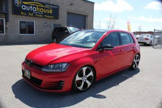 Used 2015 Volkswagen Golf GTI GTI,NAVI,BACKUP CAMERA,SUNROOF,PUSH STARTS for sale in Newmarket, ON