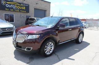 Used 2011 Lincoln MKX NAVI,AWD,SUNROOF,LEATHER,NEW TIRES for sale in Newmarket, ON