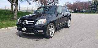 Used 2012 Mercedes-Benz GLK-Class 4MATIC 4dr  AMG | 1 Owner | LOW KM | Navi | Pano |20