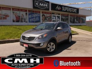 Used 2011 Kia Sportage LX  HTD-SEATS BT PWR-GROUP16 -ALLOYS for sale in St. Catharines, ON