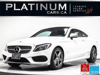 Used 2017 Mercedes-Benz C-Class C300 4MATIC,AWD,NAVI,PANO,CAM,HEATED SEATS, for sale in Toronto, ON