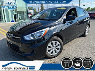 Used 2015 Hyundai Accent 5 PORTES, MANUELLE, INSPECTÉS EN 120 POI for sale in Blainville, QC
