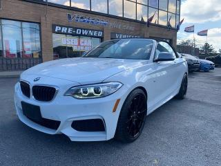 Used 2017 BMW 2 Series 2dr Conv M240i RWD for sale in North York, ON