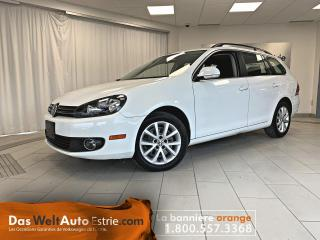 Used 2014 Volkswagen Golf Wagon TDI Comfortline, Gr. Électrique, A/C, Automatique for sale in Sherbrooke, QC