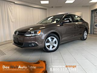 Used 2014 Volkswagen Jetta TDI Comfortline, Gr. Électrique, A/C, Automatique for sale in Sherbrooke, QC