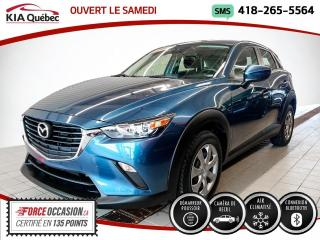 Used 2018 Mazda CX-3 GX* AUTOMATIQUE* CAMERA* A/C* for sale in Québec, QC