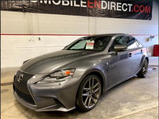 Used 2015 Lexus IS 250 F SPORT AWD CUIR TOIT MAGS for sale in Île-Perrot, QC