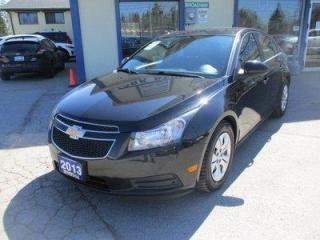 Used 2013 Chevrolet Cruze FUEL EFFICIENT 1-LT EDITION 5 PASSENGER 1.4L - TURBO.. 6-SPEED MANUAL.. CD/AUX/USB INPUT.. KEYLESS ENTRY.. for sale in Bradford, ON