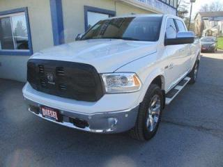 Used 2018 Dodge Ram 1500 LIKE NEW LIMITED EDITION 5 PASSENGER 3.0L - ECO-DIESEL.. 4X4.. CREW-CAB.. SHORTY.. NAVIGATION.. LEATHER.. HEATED/AC SEATS.. BACK-UP CAMERA.. SUNROOF.. for sale in Bradford, ON